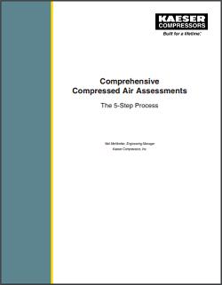 compressed air assessment comprehensive kaeser