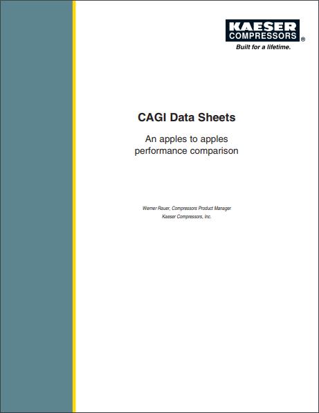 CAGI Data Sheets